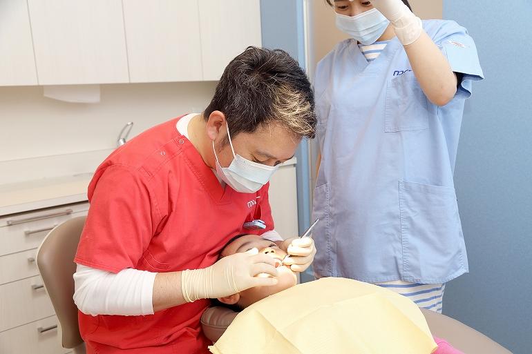 小児むし歯治療